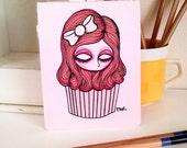 Sweet Thing Hand Bound Mini Sketchbook