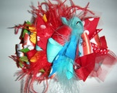 Dr. Seuss Cat in the Hat Loopy Hair Bow