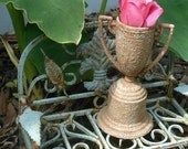 Miniature Urn-planter for Dollhouses