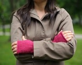 Cotton Bum Gloves (Berry) made to order