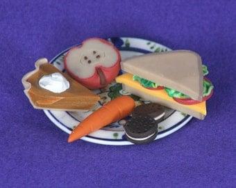 doll food sandwich lunch for  American Girl dolls