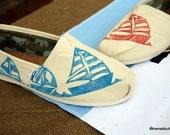 Sailboat TOMS shoes