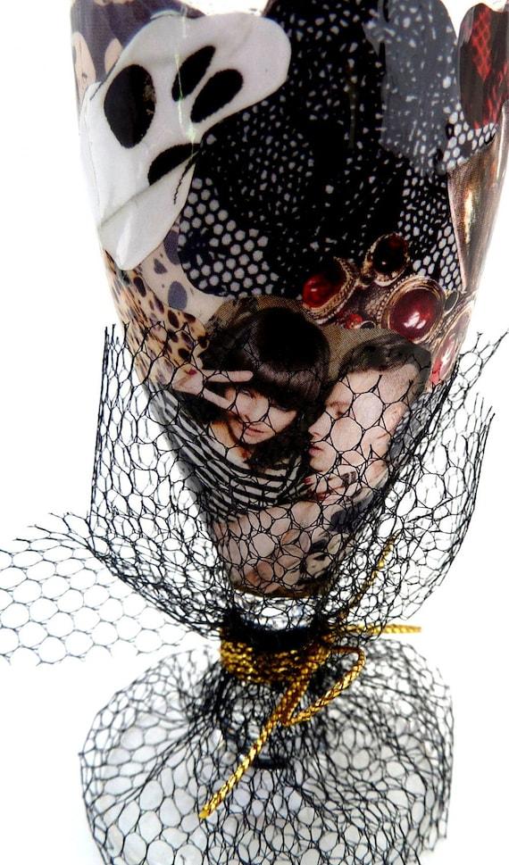 goth rock shot glass