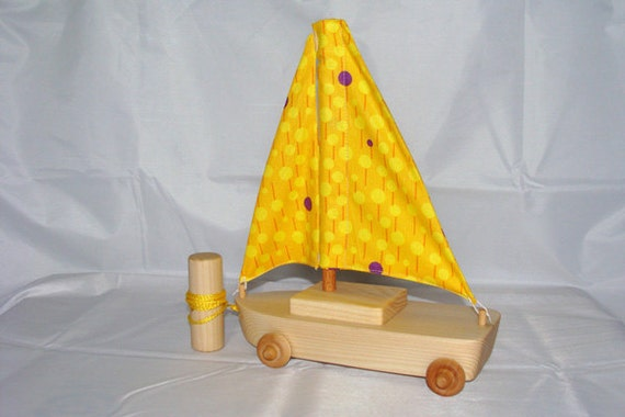 Sailboat Pull Toy