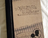 Jane Austen Inspiration - Mr. Darcy Journal