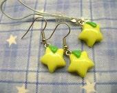 KH: Kingdom Hearts Paopu Fruit Earrings & Phone Charm Set
