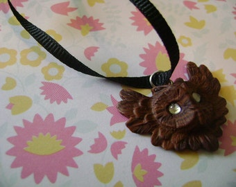 Your Color Choice: Owl Necklace