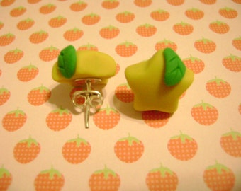 KH: Kingdom Hearts Paopu Fruit Earrings