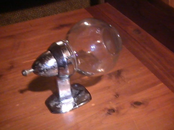Vintage Late 1940 S Old Industrial Wall Mount Faceted