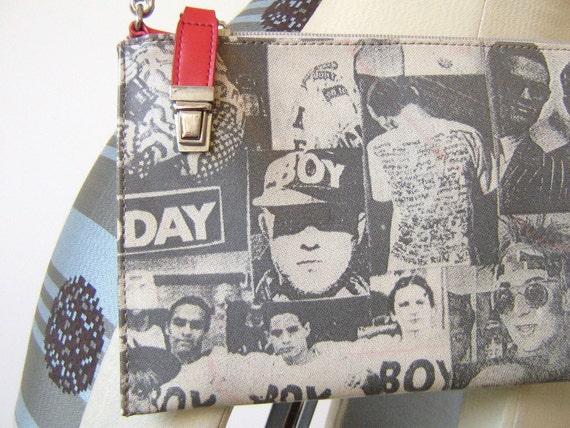 BOY LONDON Side Purse Clutch Bag Pet Shop Boys Boy George
