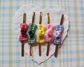 50 Lovely Rose Ribbon Twist Tie