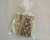 30 Lovely Garden Printed Cello & Candy Bag