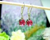 Swarovski Crystal Classic Dangle & Chandelier BirthStone Earrings - Choose your color