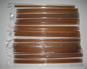 12 Size 10 Inch Double pointed Carbonized Bamboo Knitting Needles