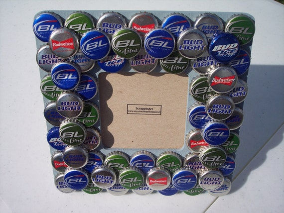 budweiser bottle cap frame