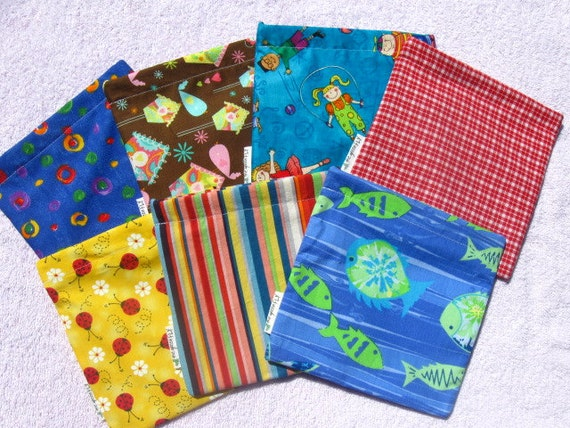 Reusable Snack Bag / Choose your pattern