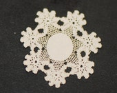 Miniature Laser Cut Doily