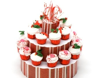 Christmas Cupcake Arrangement