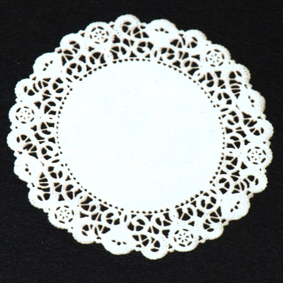 Dollhouse Miniature, Medium Miniature Laser Cut Doily