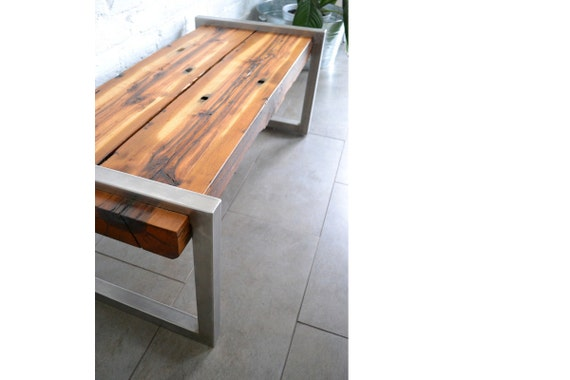 Items Similar To Railroad Tie Bench On Etsy