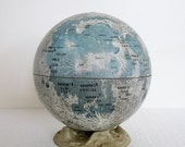 Vintage Replogle Moon Globe - Late 1960's - Pre Apollo - TREASURY PICK