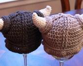 Adult Size - Viking Hat (Natural Fibers)