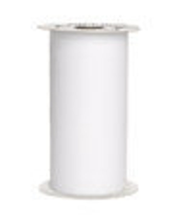 6 inches x 75 ft. tulle spool- WHITE