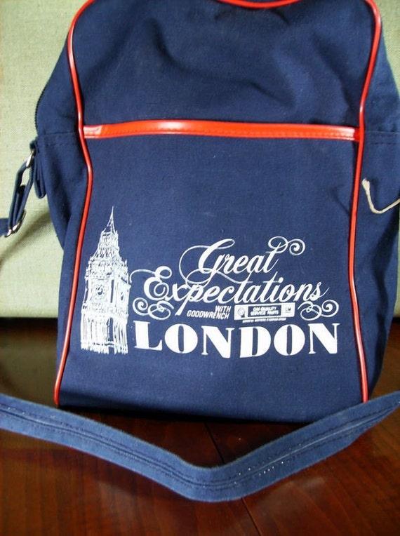 Vintage London Travel Bag