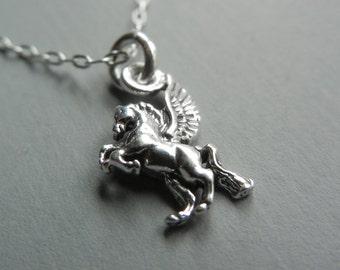 Tiny Pegasus Necklace