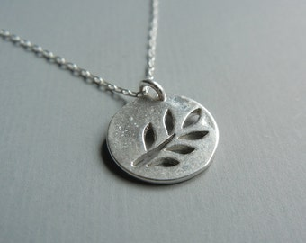 Branch Silhouette Necklace