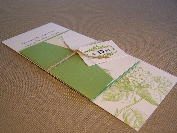 Royal Blue And Lime Green Wedding Invitations: Items Similar To Lime Green Wedding Invitation