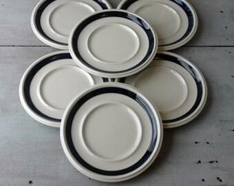 Arabia Anemone Saucers