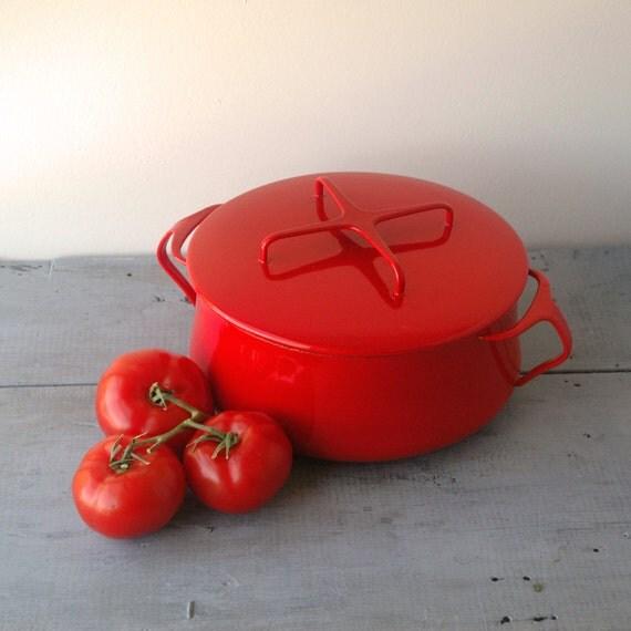 Dansk Bright Red Dutch Oven