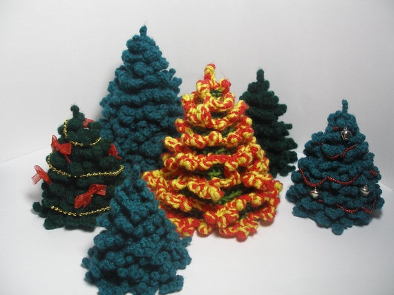 Little Fir-tree - pdf amigurumi pattern
