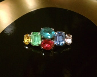 Vintage Gem Brooch