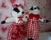 Badger Dolls in Love