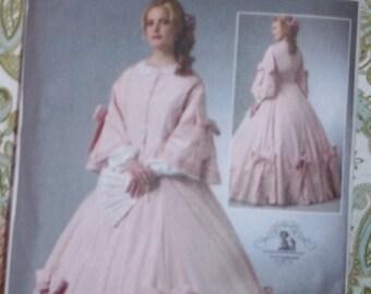 Civil War costume pattern  Butterick 5543
