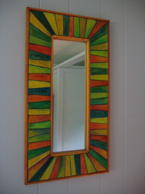 Mosaic Mirror by FigJamStudio
