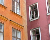Stockholm in pumpkin and pomegranate - 8x10 fine art travel photography