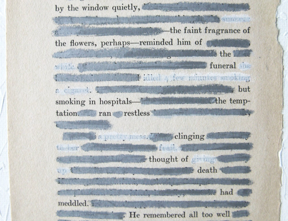 found poem Find and save ideas about found poetry on pinterest | see more ideas about blackout book, found poem and blackout poem.
