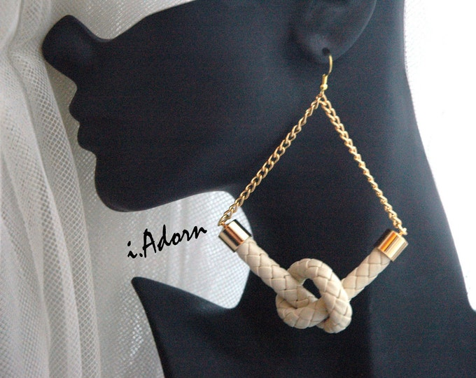 Knot Today Rope Earrings