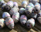 Paper Beads- New York City Area Map Paper Beads (21)
