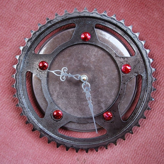 Tootsie Roll Sprocket Clock