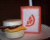 Felt Bacon Egg Cheese Sandwich