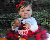 Ladybug shirt, with matching tutu in your color scheme