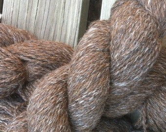 Alpaca yarn shades of brown sports weight from Arvada, CO