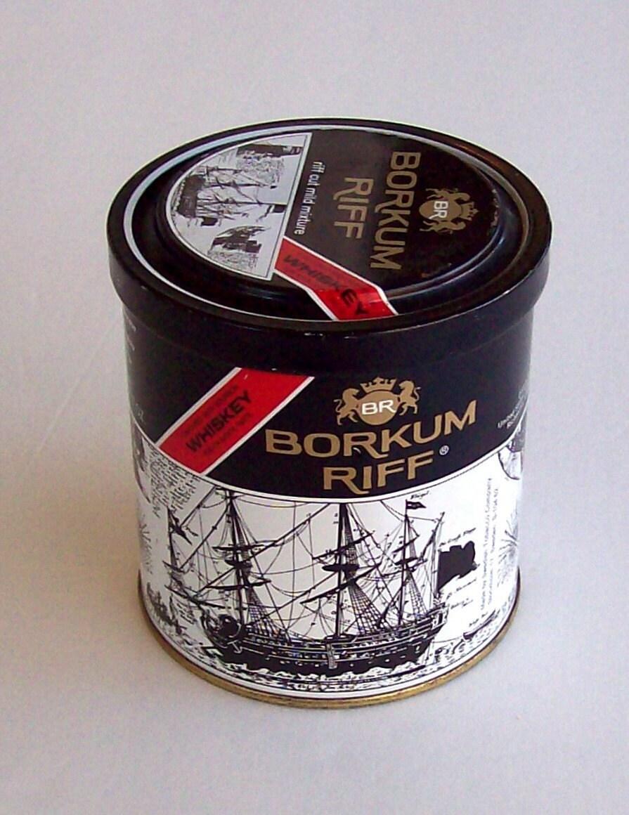 Vintage Borkum Riff Tobacco Tin