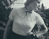 Patons Angora Knitting Booklets x 2, c. early 1950s - Vintage Knitting Pattern booklet PDF