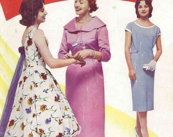 1950s 'Enid Gilchrist, Patterns for Women and Teenagers' - Sewing Pattern Drafting Booklet PDF