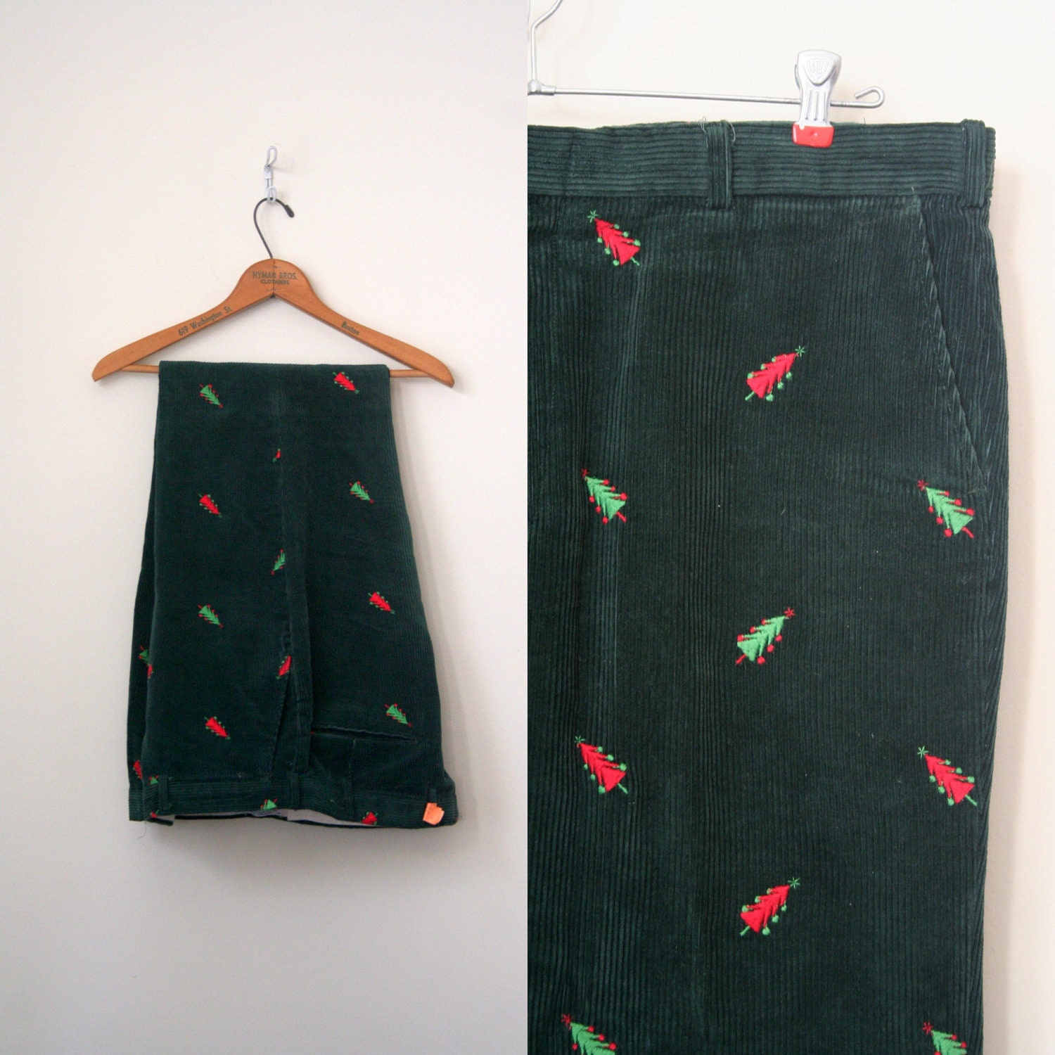 holiday corduroy pants - Pi Pants